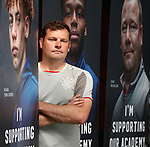 05.08.2019 Rangers RYDC Launch new Lotto Campaign. <br /> Graeme Murty