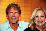 """Guiding Light actor Grant Aleksander and his wife Sherry Ramsey (Loving) and Jill Laurie Hurst (GL head writer) came to see Tina Sloan as she stars in Changing Shoes - """"a one-woman show, about the beautiful, life changing and sometimes difficult discoveries we make when we least expect them. Tina Sloan, a successful actress, mother, wife and friend has a chance encounter one night with an old pair of shoes, sending her on a journey she never planned to take. Join Tina as she searches for the answers to life's ultimate questions in the bottom of her closet and finds reasons to celebrate rather than to give up as she ages. Clips of 26 years on Guiding Light and in movies she has done add to the show's humor and sadness."""" on August 17, 2009 at the Cape May Stage, Cape May, New Jersey. Tina and Joe Plummer wrote the show and Joe also is the director of the show. The Artistic Director of the Cape May Stage is Roy Steinberg (R) who was a director and producer of Guiding Light and Another World - ALSO an actor Dr. Longo on Another World. (LPhoto by Sue Coflin/Max Photos)"""