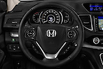 Car pictures of steering wheel view of a 2015 Honda CR-V Elegance 5 Door SUV Steering Wheel
