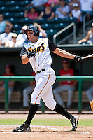 Mike Stanton (41) of the Jacksonville Suns during a game vs. the Carolina Mudcats May 31 2010 at Baseball Grounds of Jacksonville in Jacksonville, Florida. Jacksonville won the game against Carolina by the score of 3-2. Photo By Scott Jontes/Four Seam Images