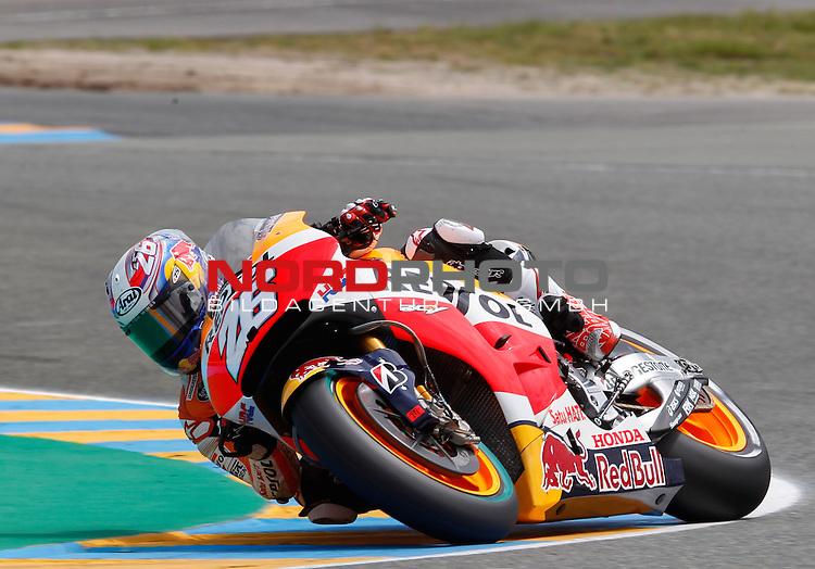 Monster Energy Grand Prix de France in Le Mans 14.-17.05.2015, Free Practice<br /> <br /> 26 Dani Pedrosa / Spanien<br /> <br /> Foto &copy; nordphoto / FSA