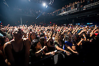 LAS VEGAS, NV - October 17, 2016: ***HOUSE COVERAGE*** Fans pictured as Ja Rule and Ashanti performs at Brooklyn Bowl in Las vegas, NV on October 17, 2016. Credit: Erik Kabik Photography/ MediaPunch