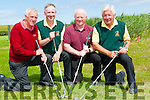 GOLF: Getting ready to play in the Federation of County Kerry Golf Club at Castlegregory Golf Club on Saturday l-r: Mick Clifford (Castleross Golf Club), Eddie Hannafin (Federation Secretary),Donal O'Reilly (Castleross Golf Club) and Sean O'Connor (Federation).