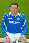 St Johnstone FC...Season 2011-12.David Robertson.Picture by Graeme Hart..Copyright Perthshire Picture Agency.Tel: 01738 623350  Mobile: 07990 594431