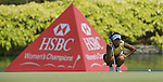 SINGAPORE - MARCH 08:  Mi Hyun Kim of South Korea on the par four 18th hole during the final round of HSBC Women's Champions at the Tanah Merah Country Club on March 8, 2009 in Singapore.  Photo by Victor Fraile / The Power of Sport Images