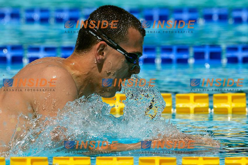 Laszlo Cseh Hungary 400m Medley Men <br /> Roma 14/6/2013 Piscina del Foro Italico <br /> Nuoto 50mo trofeo Settecolli<br /> Settecolli 50th International swimming trophy <br /> Foto Andrea Staccioli Insidefoto