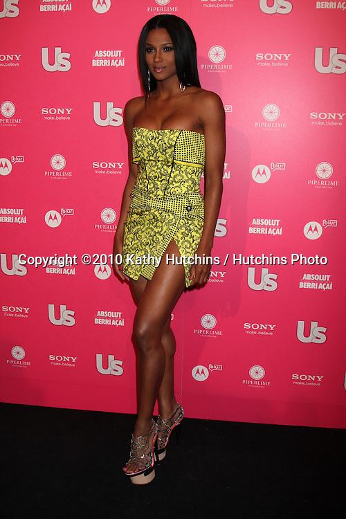 Ciara.arrives at the US Weekly Hot Hollywood Party 2010.Drai's at the W Hotel Hollywood.Los Angeles, CA.April 22, 2010.©2010 Kathy Hutchins / Hutchins Photo...