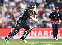 Tom Latham batting.<br /> New Zealand Blackcaps v England. 5th ODI International one day cricket, Hagley Oval, Christchurch. New Zealand. Saturday 10 March 2018. &copy; Copyright Photo: Andrew Cornaga / www.Photosport.nz