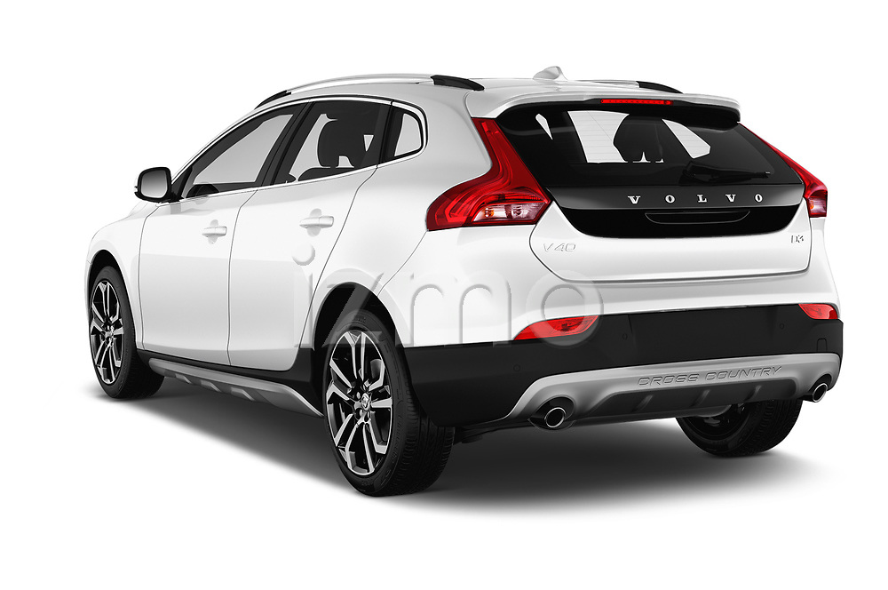 Car pictures of rear three quarter view of 2017 Volvo V40-Cross-Country - 5 Door Wagon Angular Rear