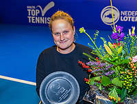 Alphen aan den Rijn, Netherlands, December 15, 2018, Tennispark Nieuwe Sloot, Ned. Loterij NK Tennis, Wheelchair final, runner up: Aniek van Koot (NED)<br /> Photo: Tennisimages/Henk Koster