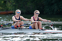 Race: 206 J2x Quarter-Final - Nottingham RC  vs Oxford City<br /> <br /> Henley Women's Regatta 2017<br /> <br /> To purchase this photo, or to see pricing information for Prints and Downloads, click the blue 'Add to Cart' button at the top-right of the page.