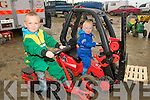 Family Fun Day: Taking part in the family fun day at Kilflynn Hotrod Track on  Sunday were Denis & Stephen Gould from Kilmorna