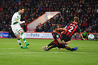 Mario Vrancic of Norwich City has a second half shot on goal during AFC Bournemouth vs Norwich City, Caraboa Cup Football at the Vitality Stadium on 30th October 2018