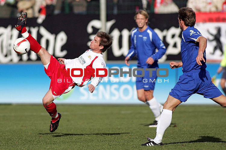 RLN 2007/2008 23. Spieltag R&uuml;ckrunde 1. FC Union Berlin vs BSV Kickers Emden<br /> <br /> Sebastian B&ouml;nig (Berlin #14)<br /> <br /> Foto &copy; nph (  nordphoto  )