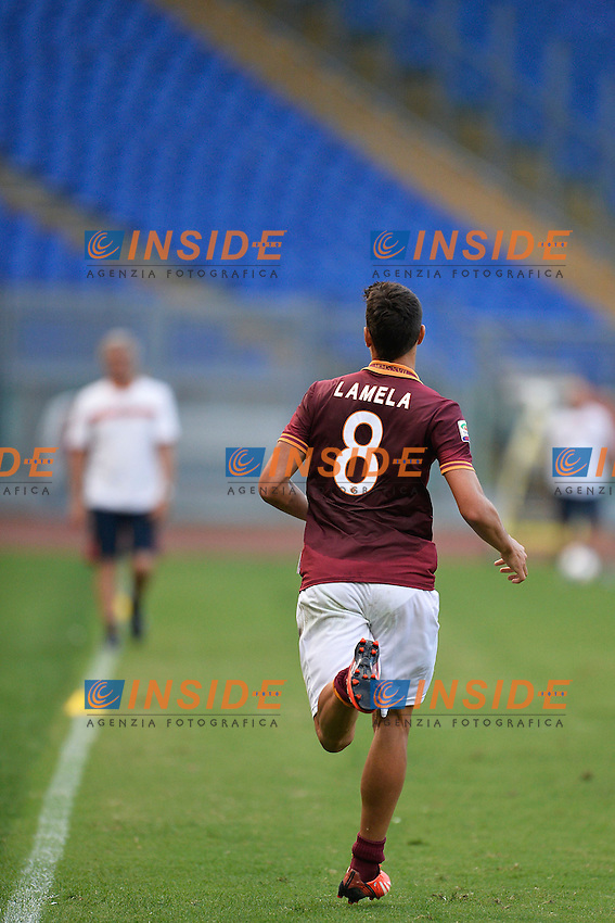 Erik Lamela Roma <br /> Roma 21/8/2013 Stadio Olimpico<br /> Football Calcio <br /> AS Roma Open Day<br /> Foto Andrea Staccioli Insidefoto