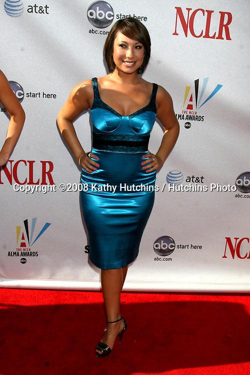 Cheryl Burke arriving at the ALMA Awards in Pasadena, CA on.August 17, 2008.©2008 Kathy Hutchins / Hutchins Photo....