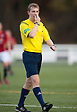Referee David Doig.