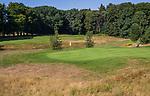 GROESBEEK  - hole Noord 8 met op de achtergrond Oost 9.  ,  Golf op Rijk van Nijmegen.   COPYRIGHT KOEN SUYK