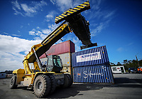 Site operations at Direct Connect in New Plymouth, New Zealand on Wednesday, 19 September 2018. Photo: Dave Lintott / lintottphoto.co.nz