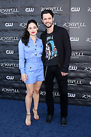 "LOS ANGELES - JAN 10:  Jeanine Mason, Nathan Parsons at the ""Roswell, New Mexico"" Experience at the 8801 Sunset Blvd on January 10, 2019 in West Hollywood, CA"