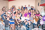 Key to the Door: Swamped with hugs gifts,Lisa Conway(seated left of centre)from Gallowsfields Tralee had a wild time at her 21st last Saturday night in the Greyhound bar Pembroke St Tralee with many friends and family.