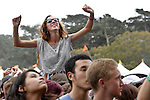 Portugal The Man performs at the Outside Lands Music & Art Festival at Golden Gate Park in San Francisco, California.