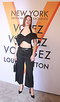 NEW YORK, NY October 26, 2017 Adele Exarchopoulos attemd  Volez Voguez Voyagez x Louis Vuitton - Exhibition Preview at the Former America Stock Exchanging Build in New York October 26,  2017. Credit:RW/MediaPunch /NortePhoto.com