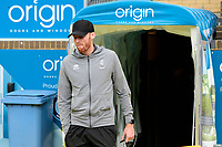 Lincoln City's Cian Bolger arrives at the ground<br /> <br /> Photographer Andrew Vaughan/CameraSport<br /> <br /> The EFL Sky Bet League One - Wycombe Wanderers v Lincoln City - Saturday 7th September 2019 - Adams Park - Wycombe<br /> <br /> World Copyright © 2019 CameraSport. All rights reserved. 43 Linden Ave. Countesthorpe. Leicester. England. LE8 5PG - Tel: +44 (0) 116 277 4147 - admin@camerasport.com - www.camerasport.com