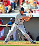 15 March 2009: Detroit Tigers' outfielder Clete Thomas in action during a Spring Training game against the Washington Nationals at Space Coast Stadium in Viera, Florida. The Tigers shut out the Nationals 3-0 in the Grapefruit League matchup. Mandatory Photo Credit: Ed Wolfstein Photo