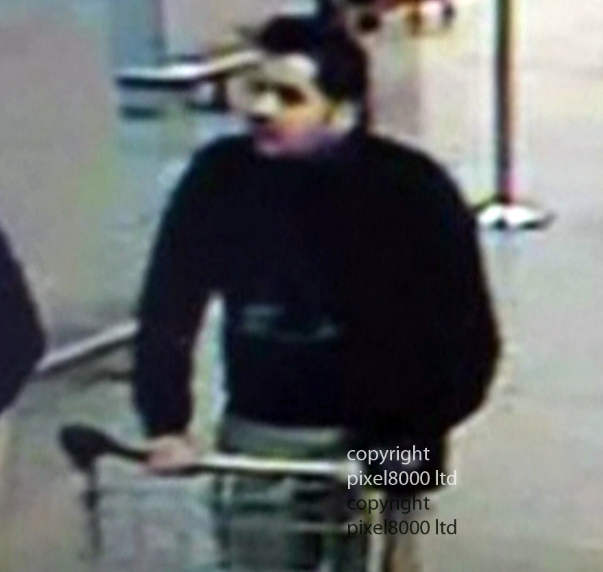 Pic shows: Brussels bomber  Ibrahim El Bakraoui <br /> <br /> According to reports he was  arrested in Turkey and deported back to Belgium in June with a warning that he was a militant, it was sensationally revealed this afternoon.  <br /> Turkish President Recep Tayyip Erdogan said Ibrahim El Bakraoui was arrested in Gaziantep in southern Turkey close to the Syrian border last summer.<br /> <br /> <br /> <br /> <br /> <br /> <br /> <br /> <br /> Pic by Pixel 8000 Ltd