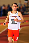 11 MAR 2016:  Kenneth Hagen of the University of Virginia competes in the Distance Medley during the Division I Men's Indoor Track & Field Championship held at the Birmingham Crossplex in Birmingham, Al. Tom Ewart/NCAA Photos