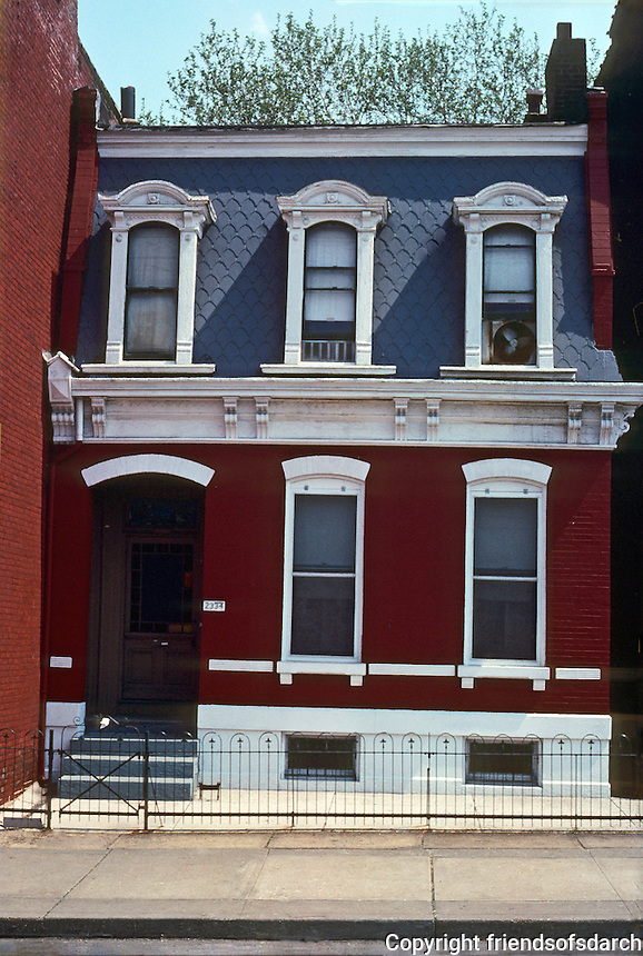 St. Louis: Soulard Area--2334 S. 9th St. Photo '77.