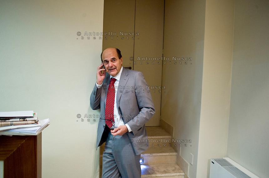 Pier Luigi Bersani è il candidato del PD alle prossime elezioni dopo la vittoria su Matteo Renzi alle primarie.