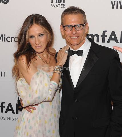 New York,NY- June 10: Sarah Jessica Parker, Michael Lombardo attends the amfAR Inspiration Gala at The Plaza Hotel In New York City on June 10, 2014 . Credit: John Palmer/MediaPunch