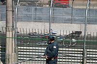 SAO PAULO, SP, 04 DE MAIO DE 2013 - TREINO LIVRE INDY 300 SP - Treino livre da São Paulo Indy 300 realizado na manhã deste sábado (04) no circuito de rua do Anhembi, zona norte da cidade.  FOTO: MAURICIO CAMARGO / BRAZIL PHOTO PRESS.