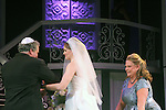 "Guiding Light's Kim Zimmer stars with Kayleen Seidl and Joel Briel in ""It Shoulda Been You"" - a new musical comedy - at the Gretna Theatre, Mt. Gretna, PA on July 30, 2016. (Photo by Sue Coflin/Max Photos)"