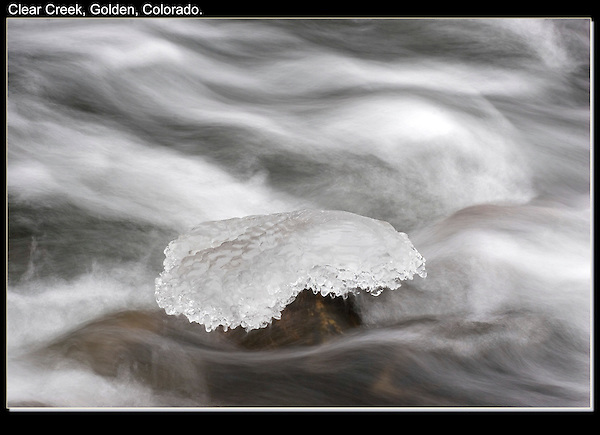 Sometimes I take photos like this, so &quot;subjects&quot; can be placed on this icy pedestal.<br />