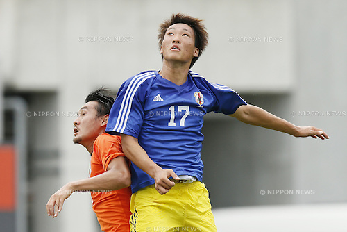 Shinnosuke Hatanaka,<br /> JULY 1, 2014 - Football / Soccer : <br /> Training match between U-19 Japan 1-2 Omiya Ardija<br /> at NACK5 Stadium Omiya, Saitama, Japan. <br /> (Photo by SHINGO ITO/AFLO SPORT)