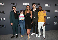 BEVERLY HILLS, CA - AUGUST 4: Morgan Krantz, Brooke Markham, Perry Mattfeld, Casey Diedrick, Keston John, at The CW's Summer TCA All-Star Party at The Beverly Hilton Hotel in Beverly Hills, California on August 4, 2019. <br /> CAP/MPI/FS<br /> ©FS/MPI/Capital Pictures