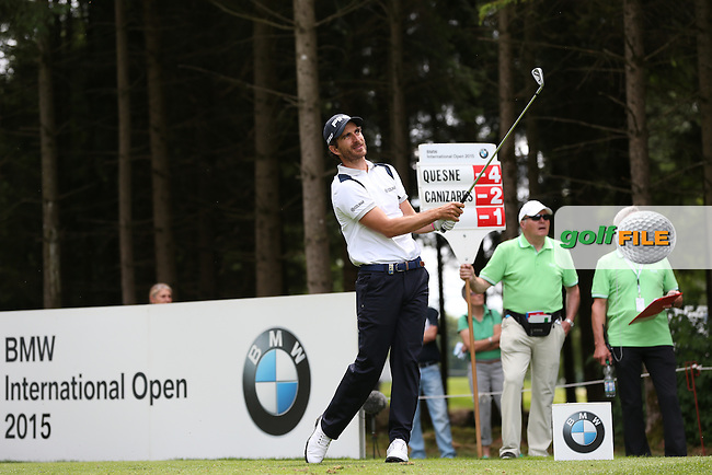 Alejandro Canizares (ESP) at -2 on the 17th during Round One of the 2015 BMW International Open at Golfclub Munchen Eichenried, Eichenried, Munich, Germany. 25/06/2015. Picture David Lloyd | www.golffile.ie