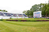 Graeme McDOWELL (NIR) during round 2 of the 2015 BMW PGA Championship over the West Course at Wentworth, Virgina Water, London. 22/05/2015<br /> Picture Fran Caffrey, www.golffile.ie: