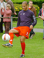 KV Kortrijk eerste training..Adlène Guédioura..fotos DAVID CATRY/VDB