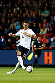 June 6th 2017, Brondby Stadium, in Brondby, Copenhagen, Denmark;  Germany's Niklas Sule during the international  match between Denmark and Germany at the Brondby Stadium