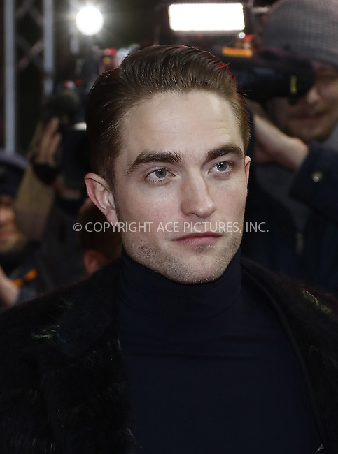www.acepixs.com<br /> <br /> February 14 2017, Berlin<br /> <br /> Robert Pattinson arriving at the premiere of 'The Lost City of Z' during the 67th International Berlin Film Festival at Zoo Palast on February 14 2017 in Berlin<br /> <br /> <br /> By Line: Famous/ACE Pictures<br /> <br /> <br /> ACE Pictures Inc<br /> Tel: 6467670430<br /> Email: info@acepixs.com<br /> www.acepixs.com