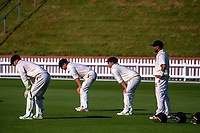 Action from day two of the Plunket Shield cricket match between the Wellington Firebirds and Otago Volts at the Hawkins Basin Reserve in Wellington, New Zealand on Tuesday, 31 October 2017. Photo: Dave Lintott / lintottphoto.co.nz