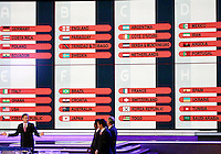 The draw for 2006 World Cup is complete. The final draw for the 2006 FIFA World Cup took place in the Congress Centre in Leipzig, Germany on December 9 2005.