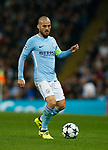 David Silva of Manchester City during the Champions League Group F match at the Emirates Stadium, Manchester. Picture date: September 26th 2017. Picture credit should read: Andrew Yates/Sportimage