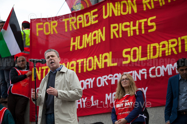 Mark Serwotka (General Secretary of the Public and Commercial Services Union, PCS).<br />