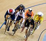 Engeland, London, 7 augustus 2012.Olympische Spelen London.Baanwielrenner Teun Mulder heeft bij de Olympische Spelen in Londen de bronzen medaille veroverd op de keirin