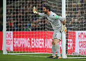9th December 2017, Selhurst Park, London, England; EPL Premier League football, Crystal Palace versus Bournemouth; Julian Speroni of Crystal Palace prepares for a Bournemouth free kick